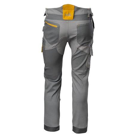 Pantalon Trabajo Txxl 97 Algo 3 Elastico Gris Stretch Flexwork T